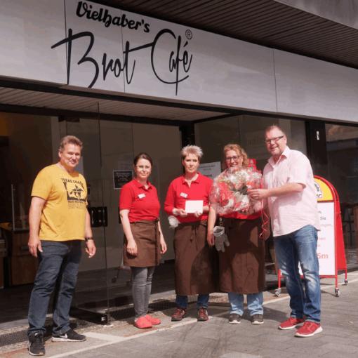 Neueröffnung Filiale Bäckerei Vielhaber