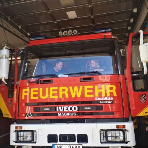 Besuch bei der freiwilligen Feuerwehr Werdohl