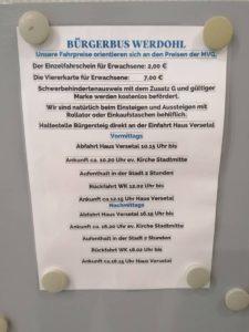 Bürgerbus Werdohl Haus Versetal